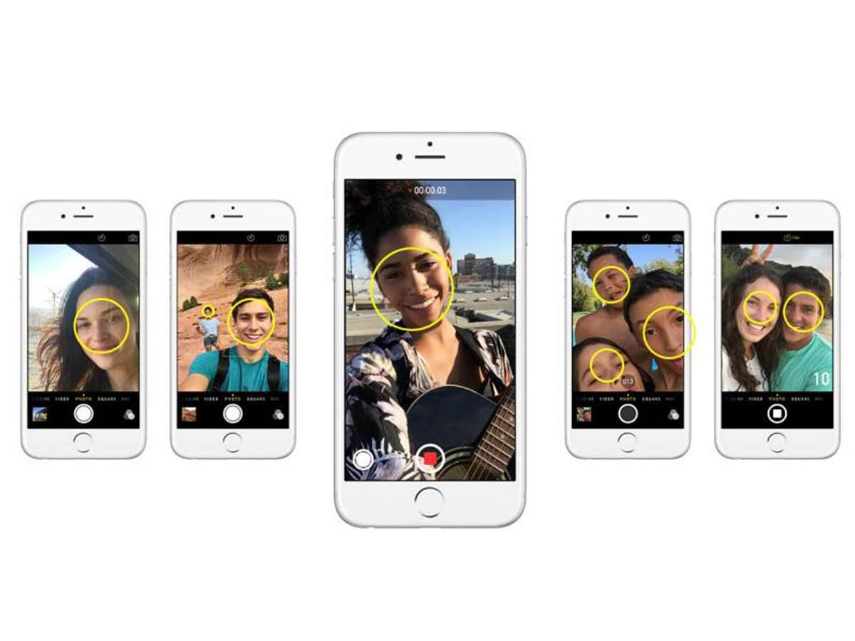 Future iPhones could auto-share group selfies