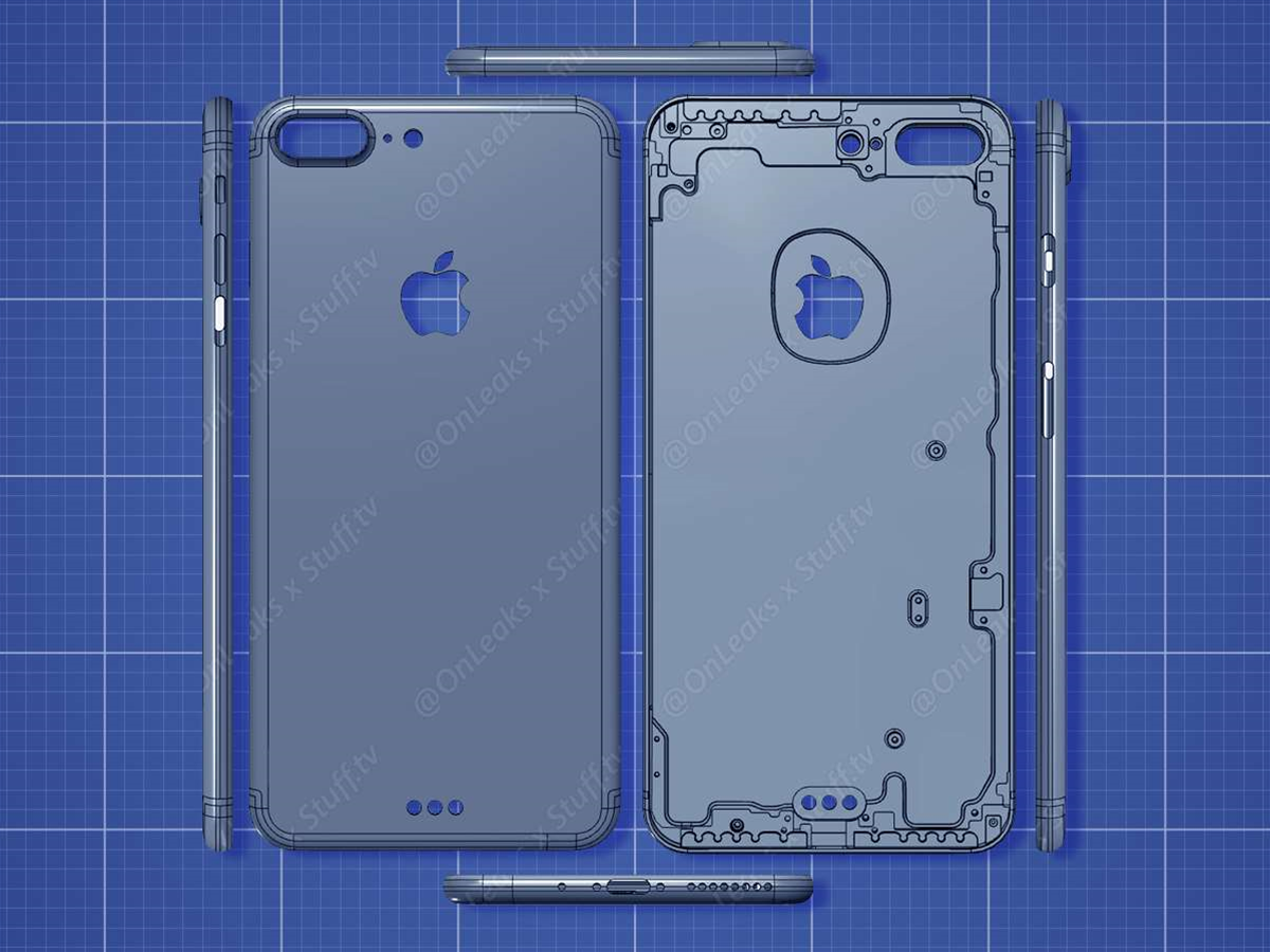 EXCLUSIVE: This is what the Apple iPhone 7 Plus will look like