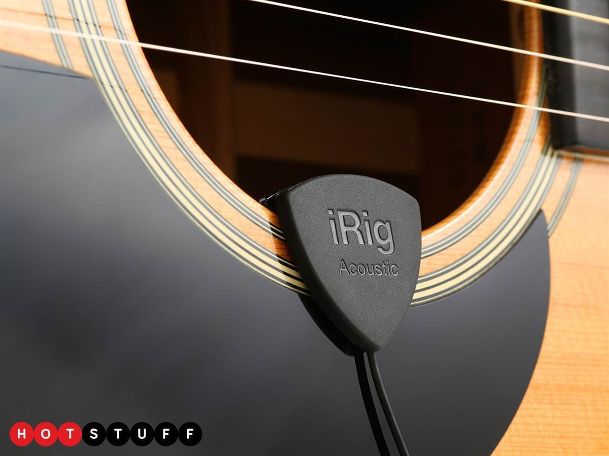 Drag your guitar into the digital age with iRig Acoustic Stage and Pro I/O