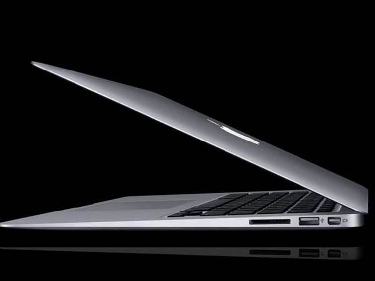 Apple kills off hard disks in MacBook Air