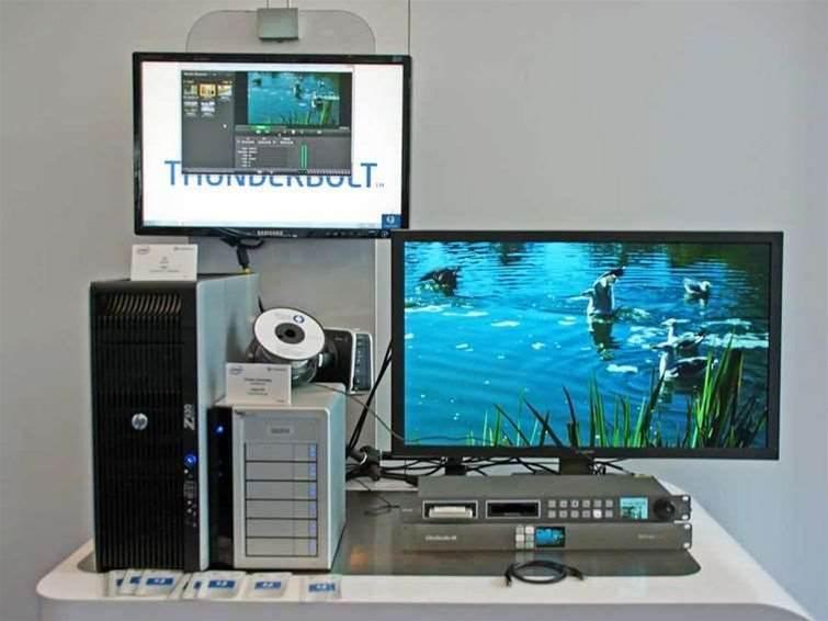 Thunderbolt 2 doubles to 20Gbit/sec speeds