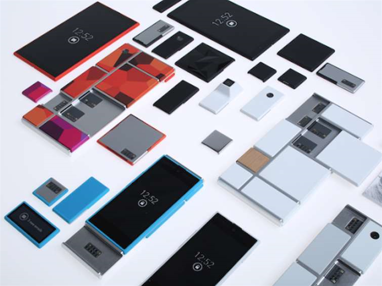 Motorola's Project Ara: customisable smartphones