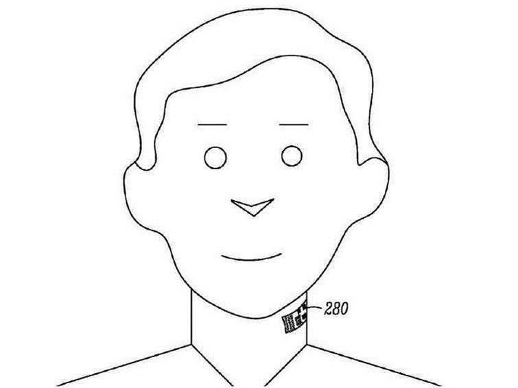 Motorola patent uses temporary tattoo as microphone
