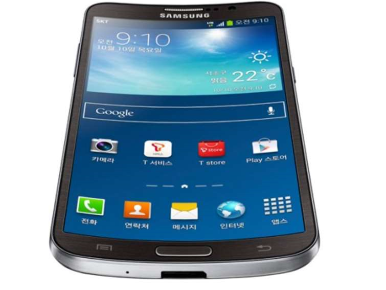 Samsung wraparound display phone in the pipeline