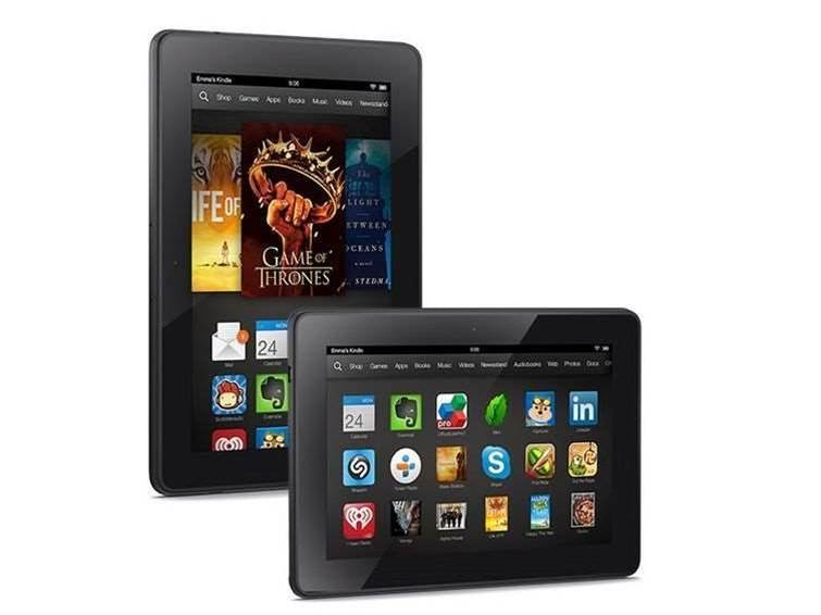 Kindle Fire HDX gets firmware update, TV support