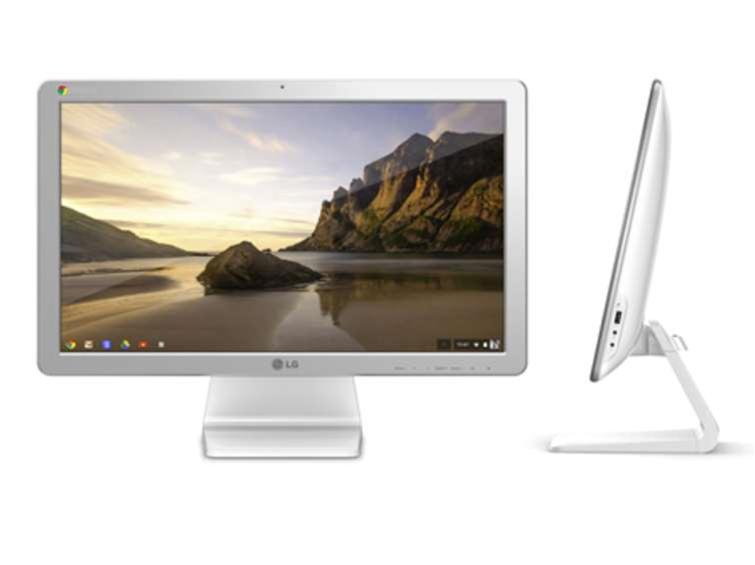 LG Chromebase: an all-in-one running Chrome OS
