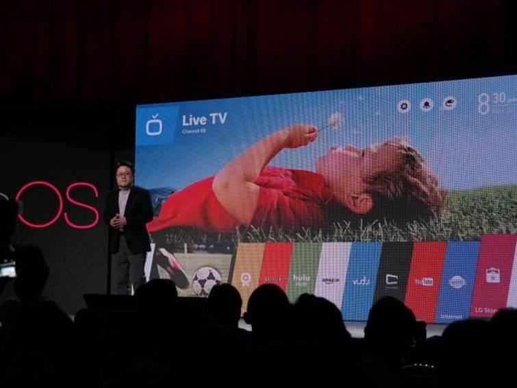 LG debuts new smart TVs running webOS