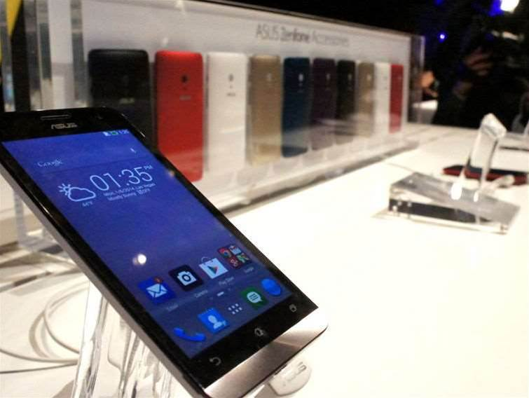 Asus puts Intel inside the ZenFone and PadFone mini