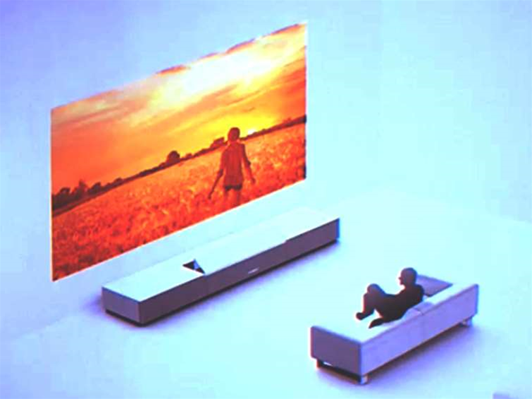 Sony turns walls into 4K displays with Ultra Short Throw Projector