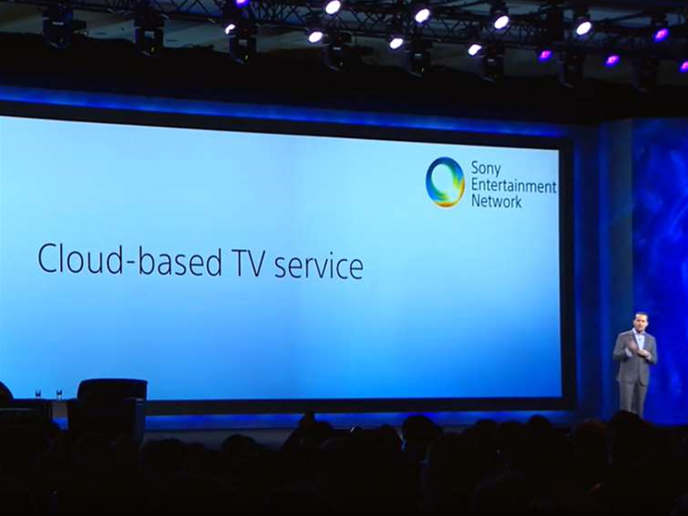 Sony unveils cloud based TV service