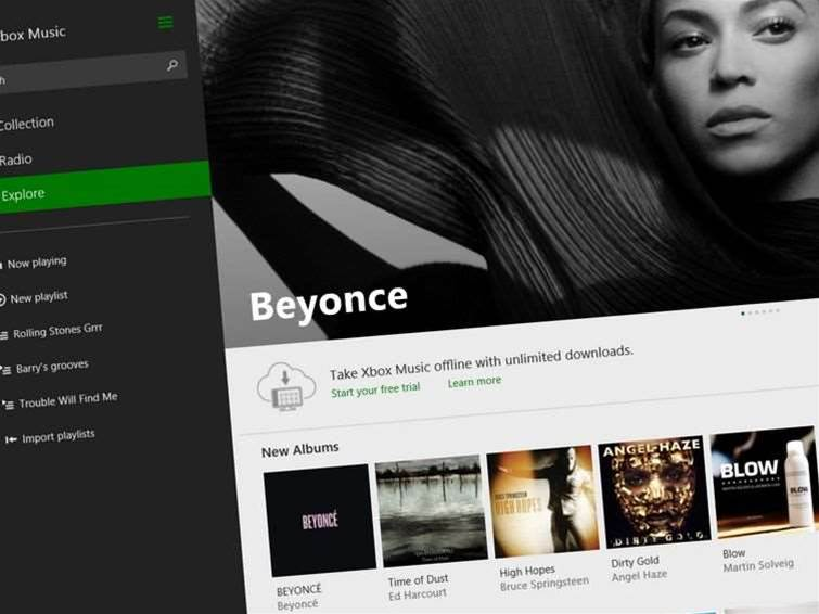 Xbox Music for iOS updated with offline support