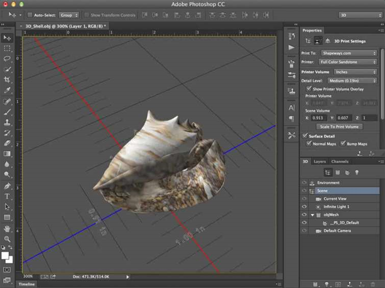 Photoshop gets 3D printing in latest update