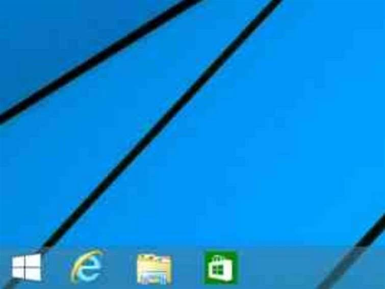 Windows 8.1 Update 1 pins apps to taskbar