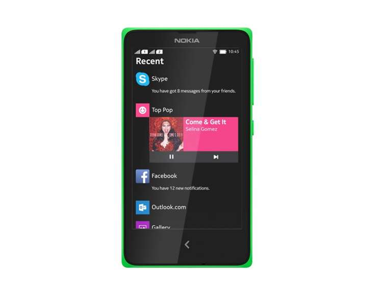 Nokia X: the newest Android smartphone