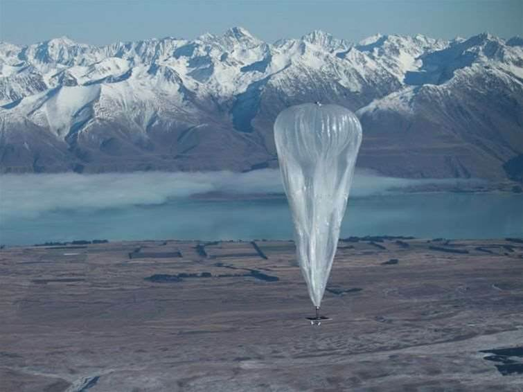 Google balloon broadband hits 22Mbps