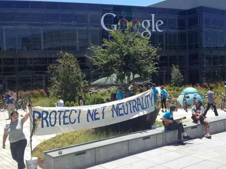Google I/O 2014 disrupted by protesters