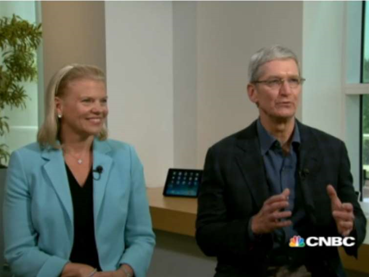 Apple and IBM pair up for enterprise push