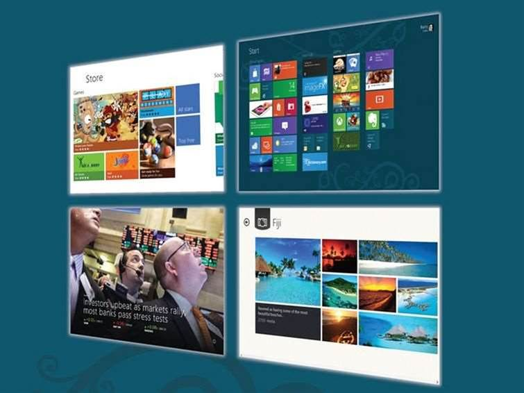 Microsoft shows Modern apps running in desktop windows