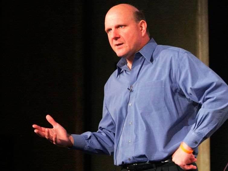 Steve Ballmer steps down from Microsoft