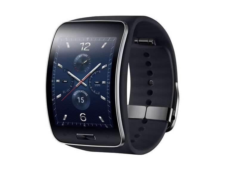 Samsung unveils Gear S smartwatch and Circle smart necklace
