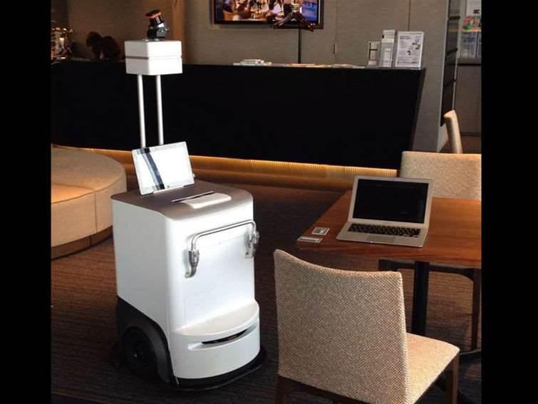 Forget robot butlers: meet Fuji Xerox's robot printer