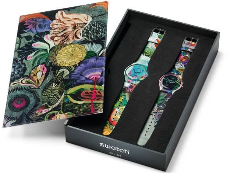 Swatch Touch in development