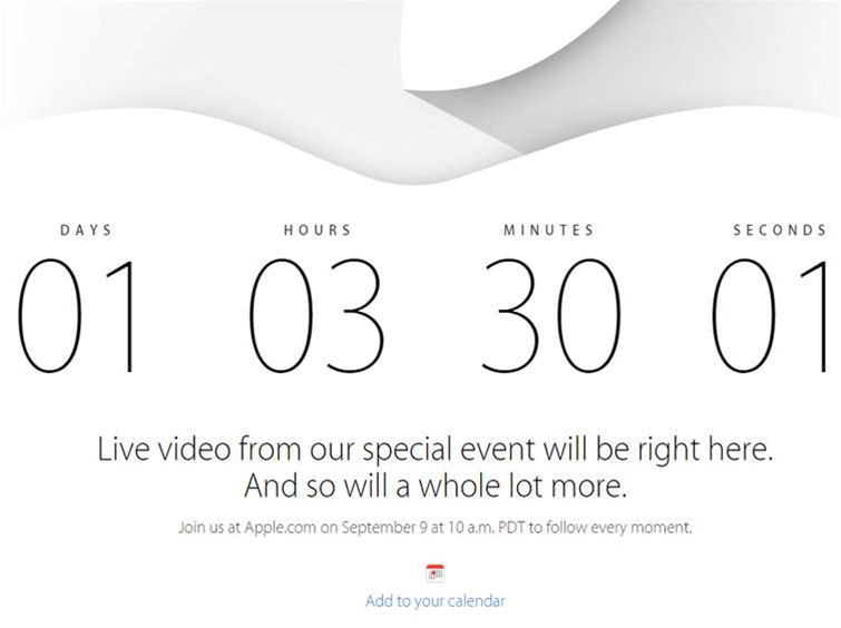 How to watch the iPhone 6 launch event live