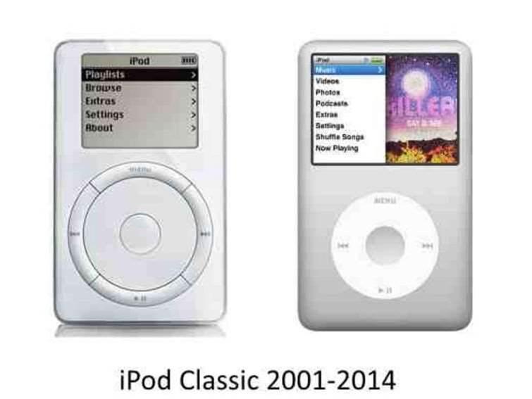 Apple kills off the iPod Classic