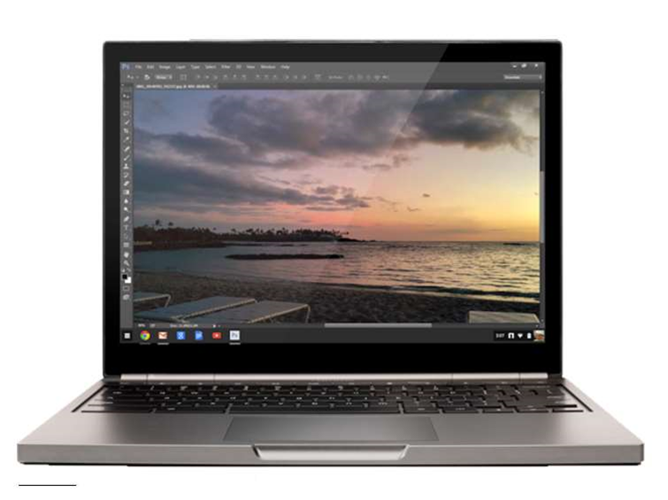 Chromebooks get their own Photoshop