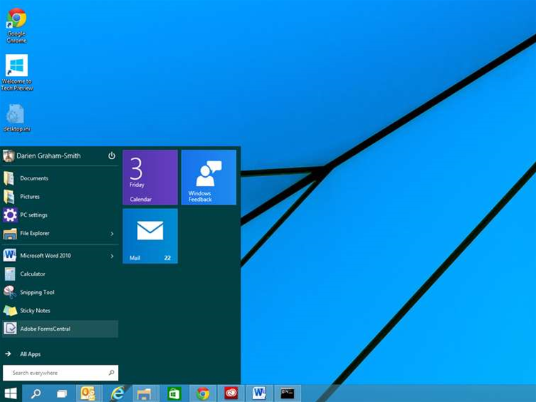 Windows 10 preview has a keylogger