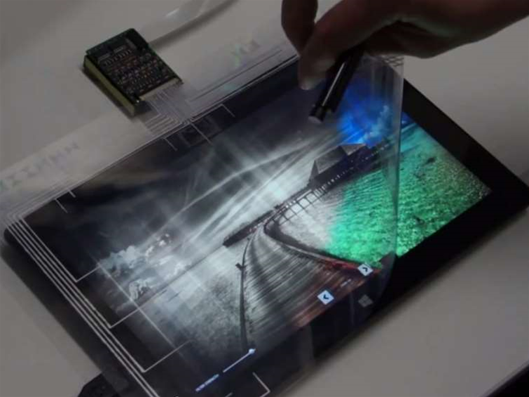 Microsoft Research announces flexible smart cover for Surface