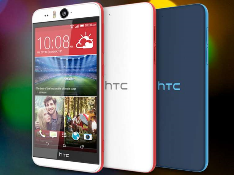 HTC shows off Desire Eye selfie phone, periscope-like camera
