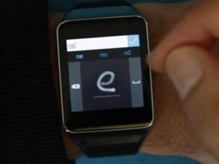 Microsoft lets you draw to type on Android smartwatches