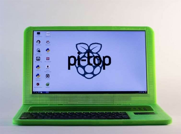 The print-your-own Raspberry Pi laptop hits crowdfunding target