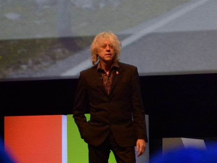 Bob Geldof: Teaching coding to the poor can end inequality