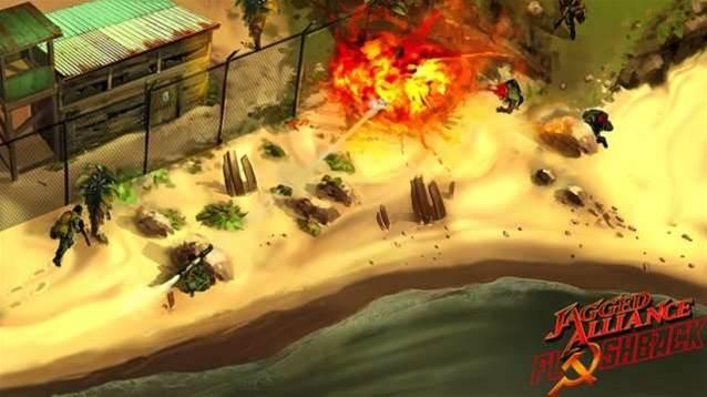 Jagged Alliance: Flashback hits Steam!