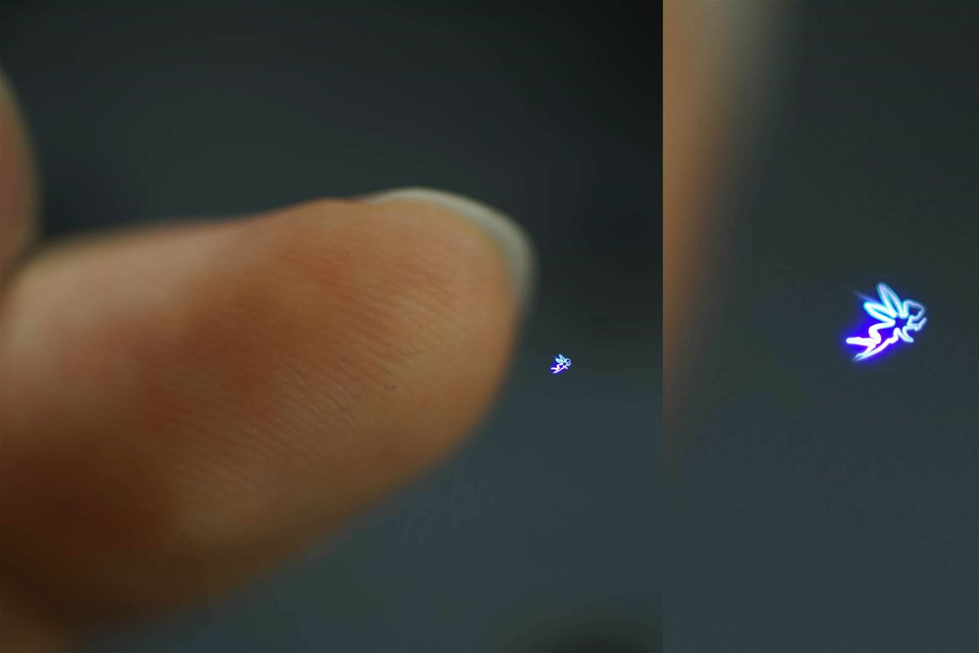 Superfast Lasers Create A Hologram You Can Touch