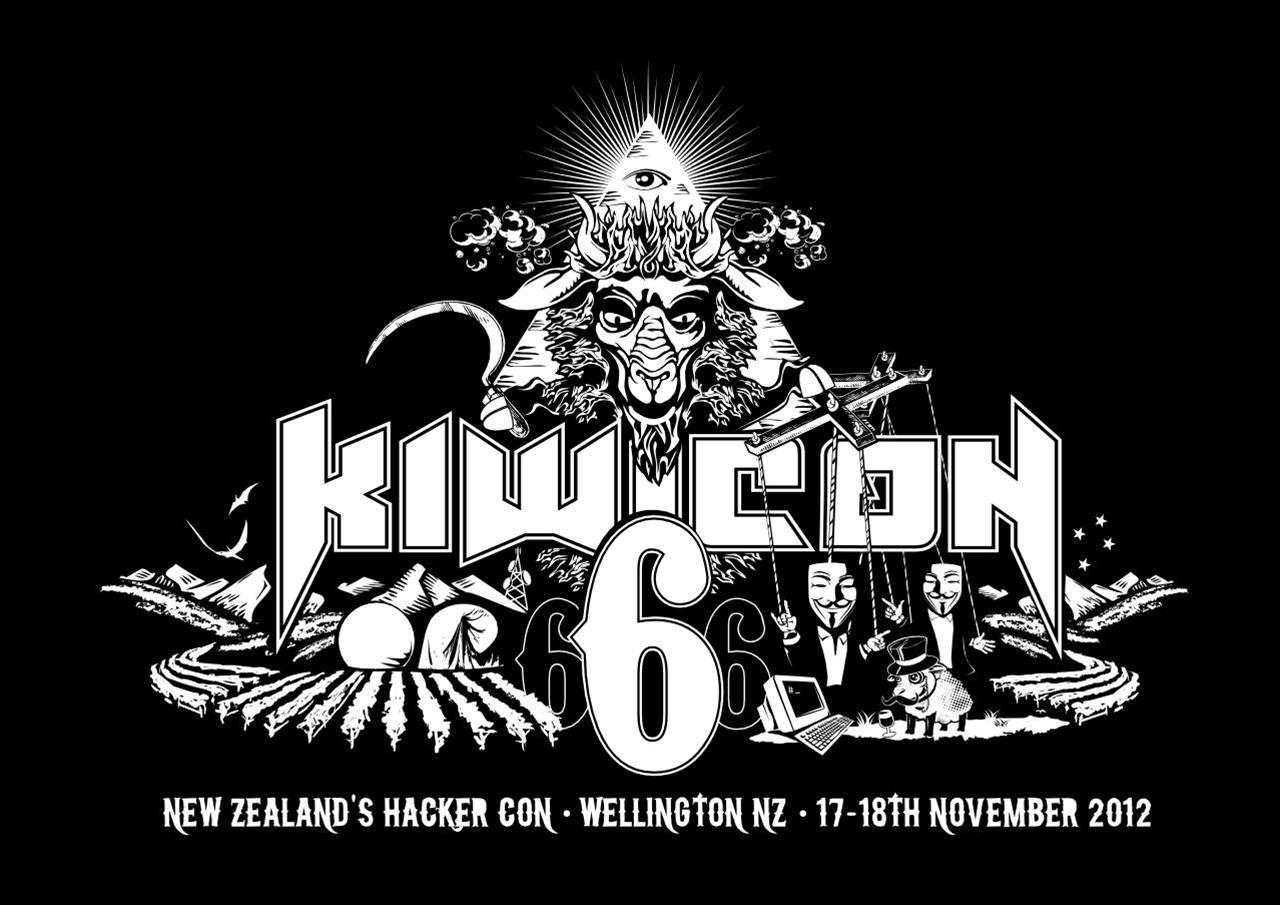 Kiwicon opening time-lapse
