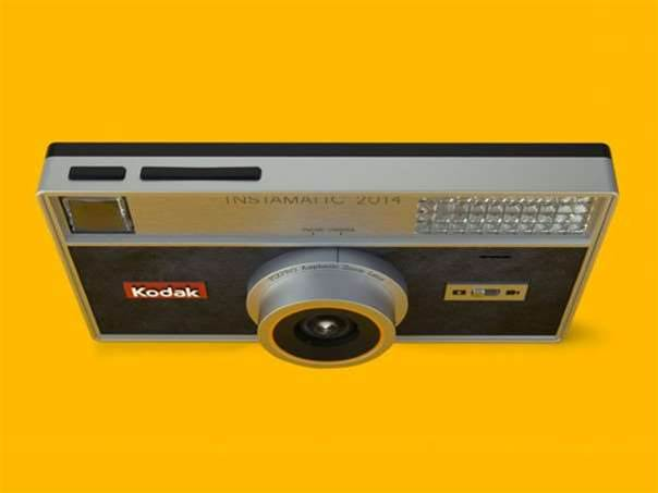 Kodak Instamatic is back – in an Android-powered camera phone