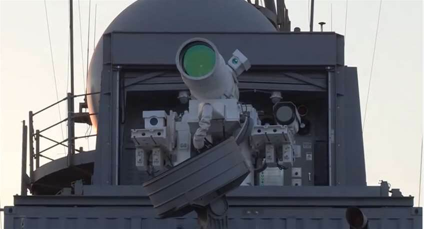 The Navy Destroyed A Drone With Lasers