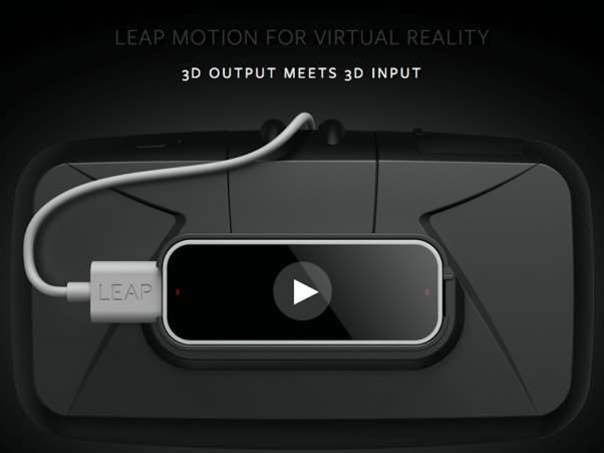 Leap Motion makes play for VR with headset mount