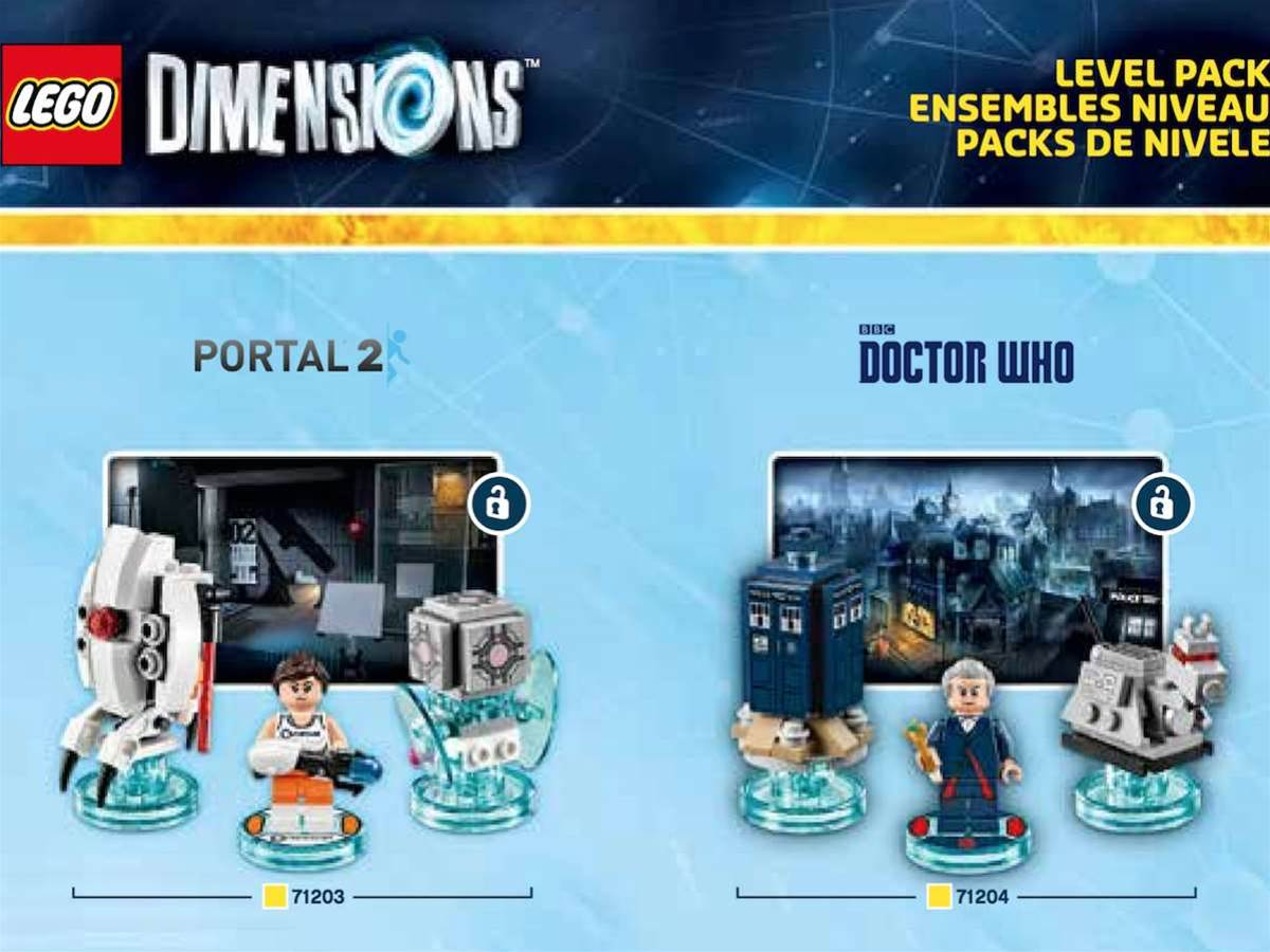Doctor Who, Portal, and more coming to Lego Dimensions