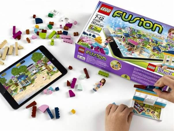 Lego Fusion blends real and virtual blocks