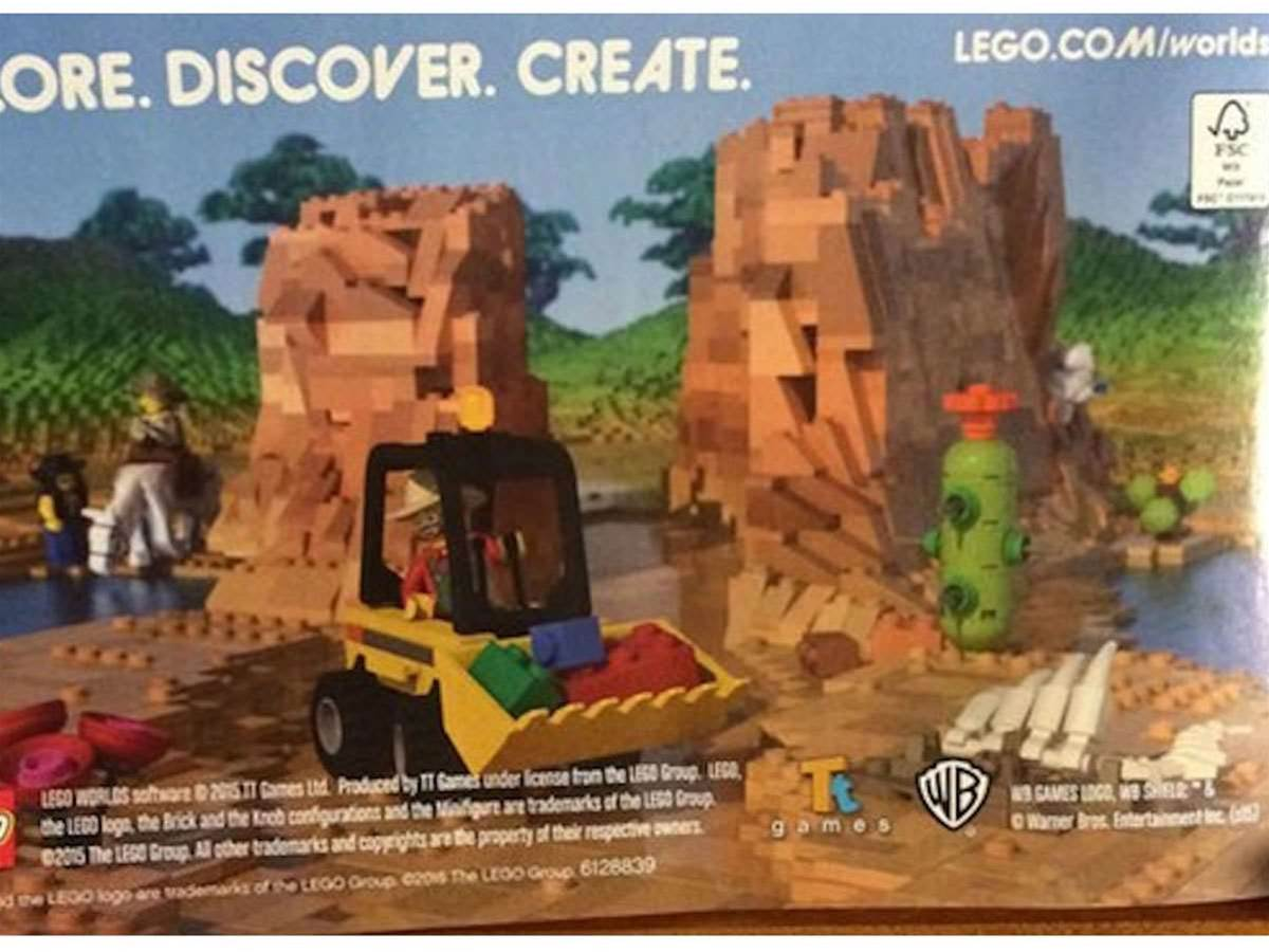 Lego may be building a Minecraft competitor