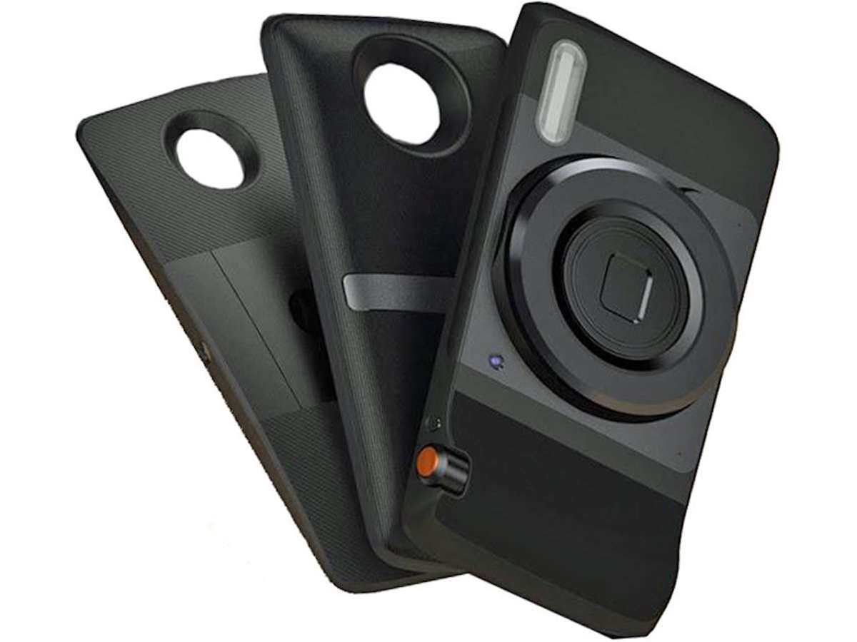 Here's our first look at the Moto Z's modular MotoMod add-ons