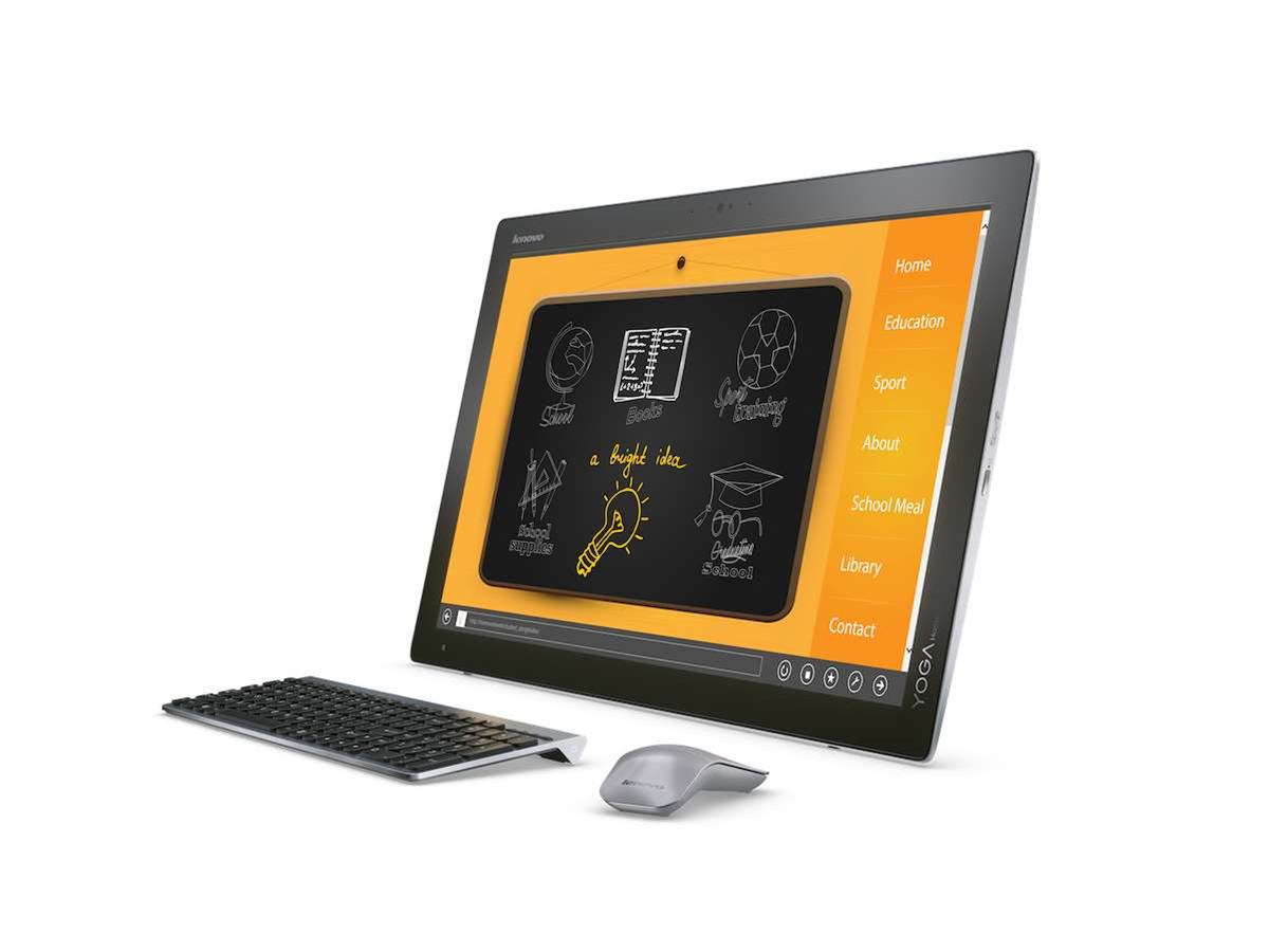 Lenovo adds to the Yoga line with the all-in-one Home 900