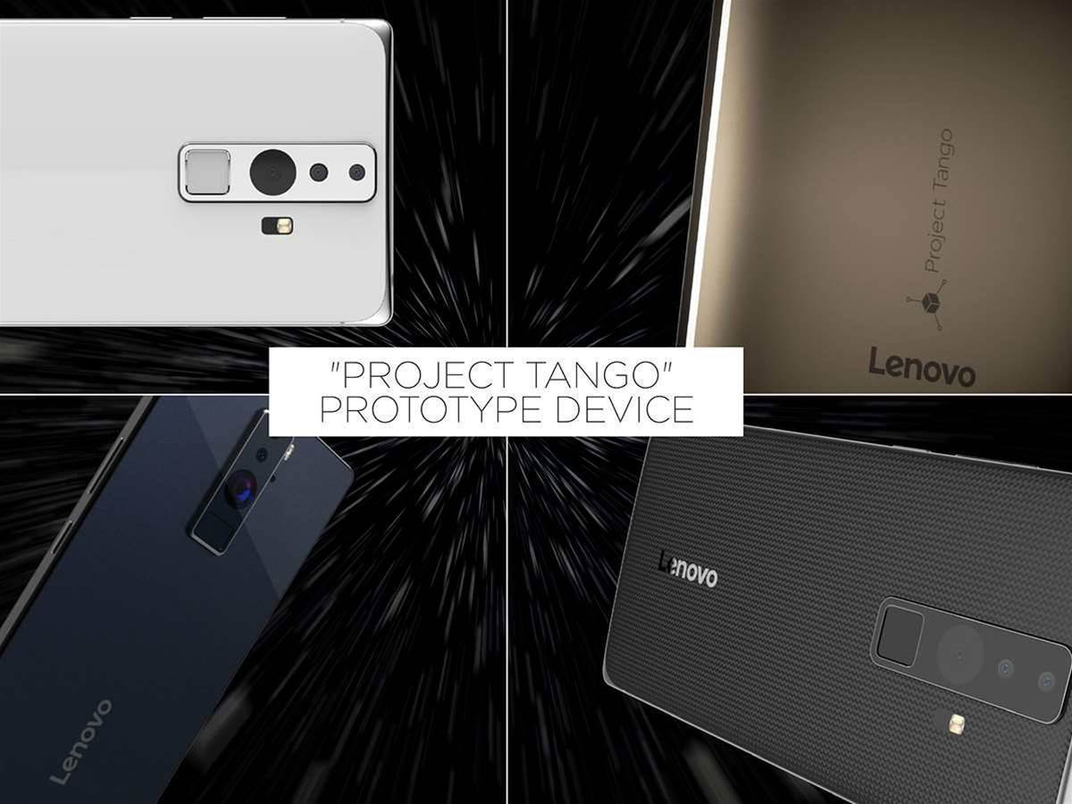 Lenovo phablet Tangos with Google's 3D camera project