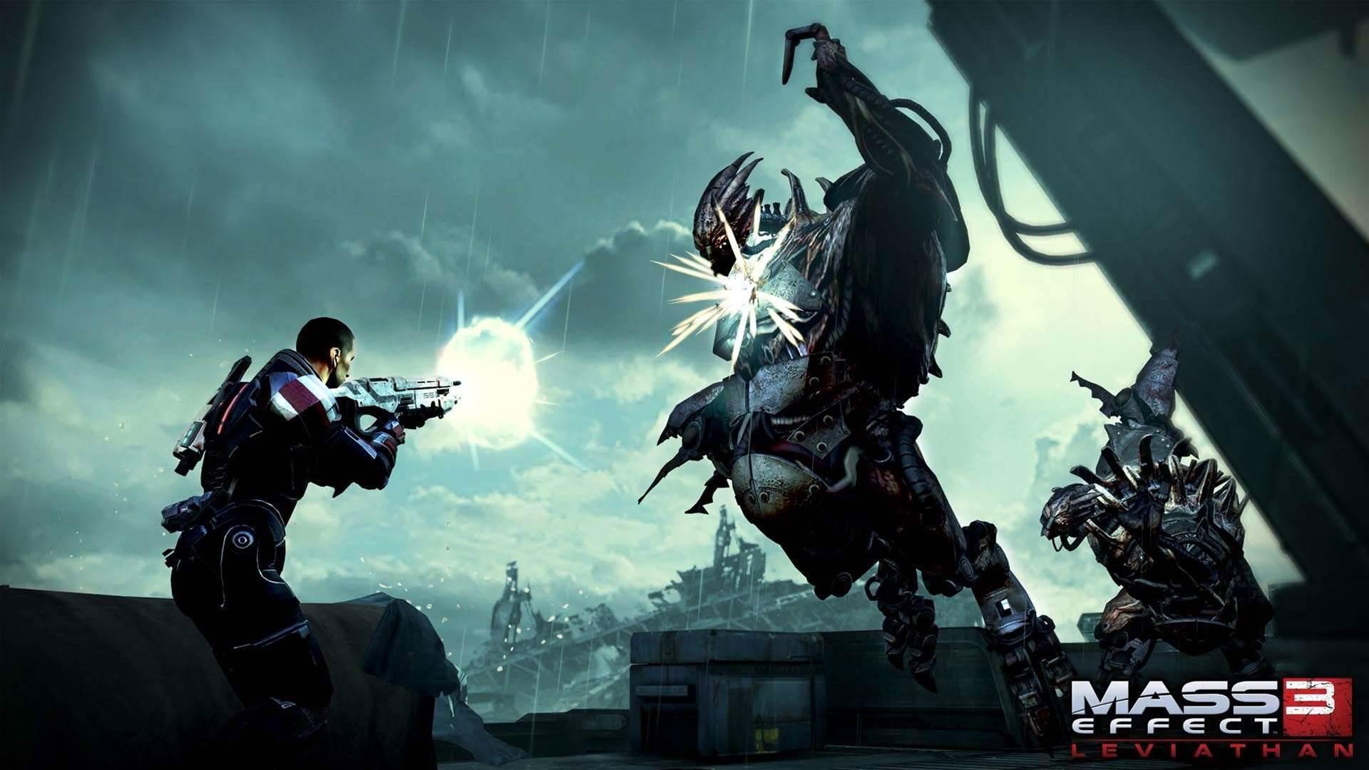 Mass Effect 3: Leviathan DLC out now