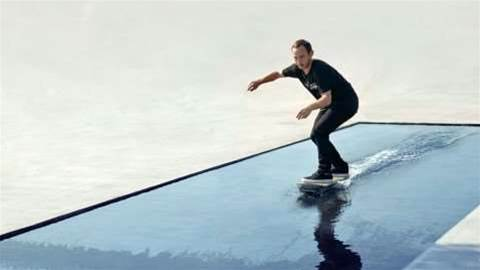 Lexus shows off a real hoverboard