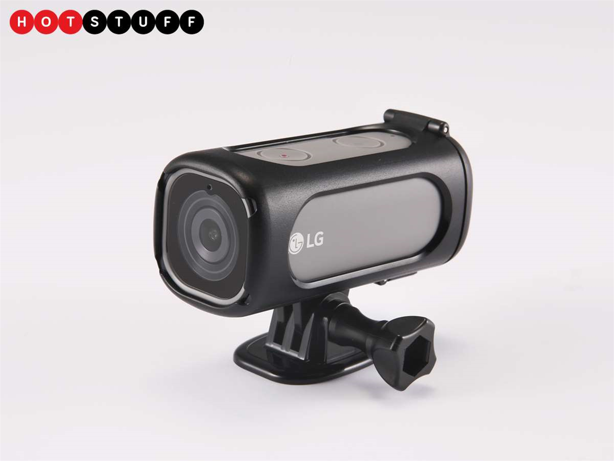 LG's latest Friend is a 4K- and 4G-equipped action cam